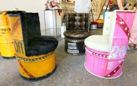 Upcycled Furniture | ... into treasure: Upcycled artwork, furniture hit Beirut - The Daily Star