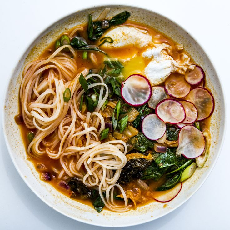 This kimchi and vegetable soup is healthy, sure. But it's also really darn good.