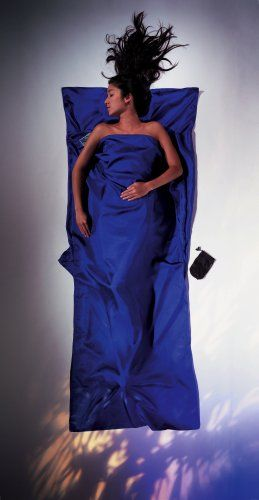 Cocoon Silk TravelSheet (Ultra Blue, 86-Inch x 35-Inch) Cocoon http://www.amazon.com/dp/B001DX80BE/ref=cm_sw_r_pi_dp_G93Xvb17D3W7A