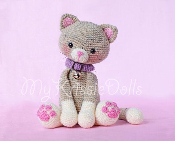 Crochet Pattern-Pussy N par MyKrissieDolls sur Etsy