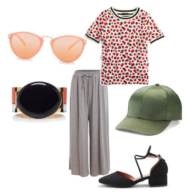 """Orange make you smarter"" by fishpinochio on Polyvore featuring J.Crew, Paul Smith, Mudd and Marni"