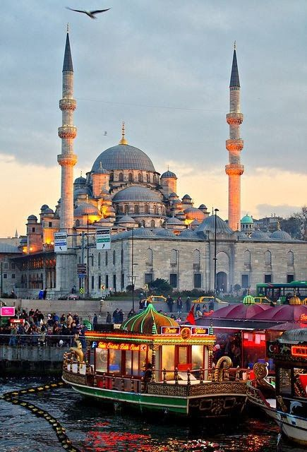 Istanbul, Turkey. I have been there and it was so beautiful