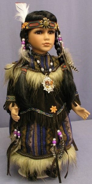 I had a little doll like this. She was made of China and we had matching shirts