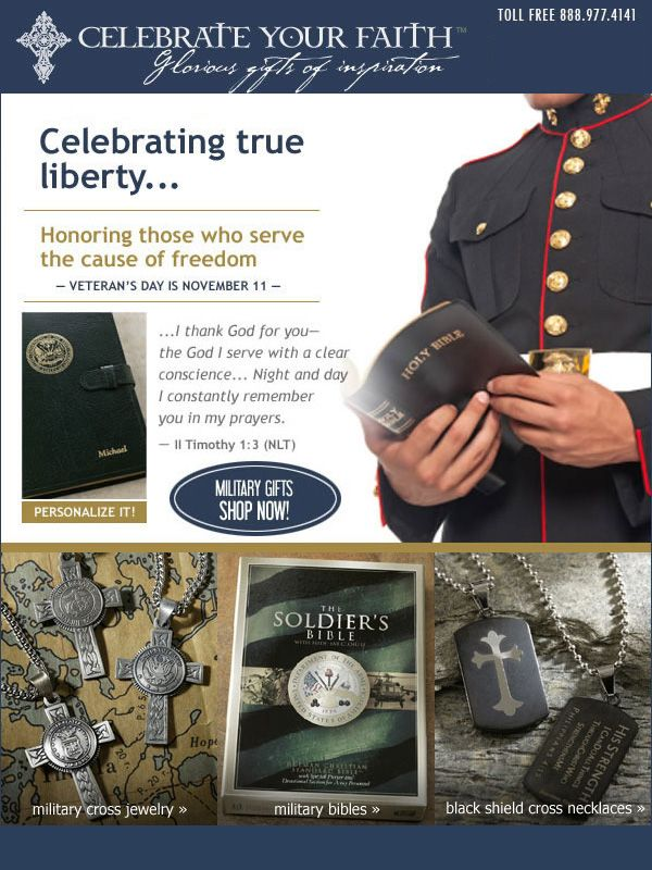 Celebrate True Liberty ~ Veteran's Day Gifts that Give Back