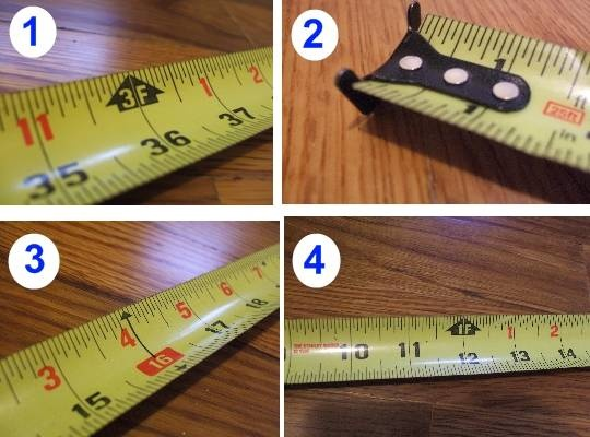 How to read a tape measure/ruler