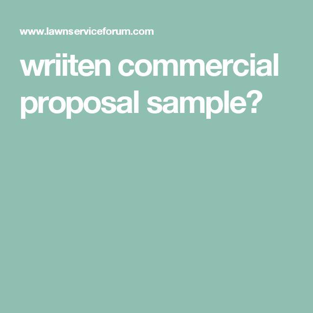 De 25+ bedste idéer inden for Proposal sample på Pinterest - example of a proposal letter