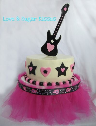 rock star birthday cake?