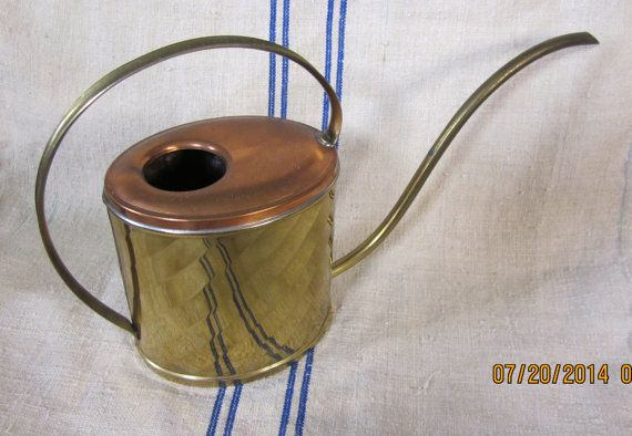 Vintage  1960's   Retro/Midcentury  Watering Can  by angelinabella, $23.00