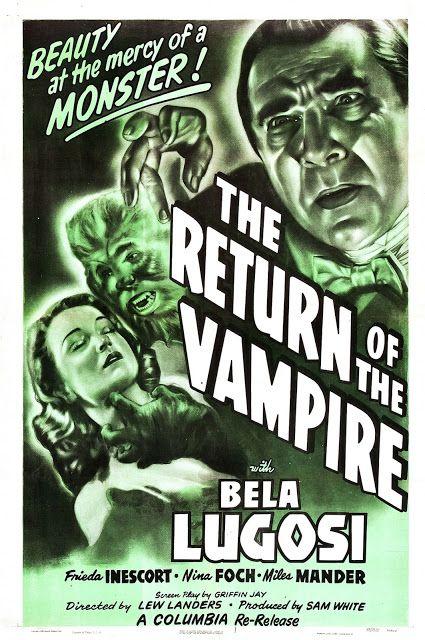 El retorno del vampiro (1943) The Return of the Vampire - Reparto Bela Lugosi, Frieda Inescort, Nina Foch,
