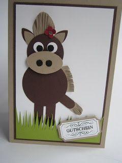 """Pferdekarte von """"paperqueen"""""""