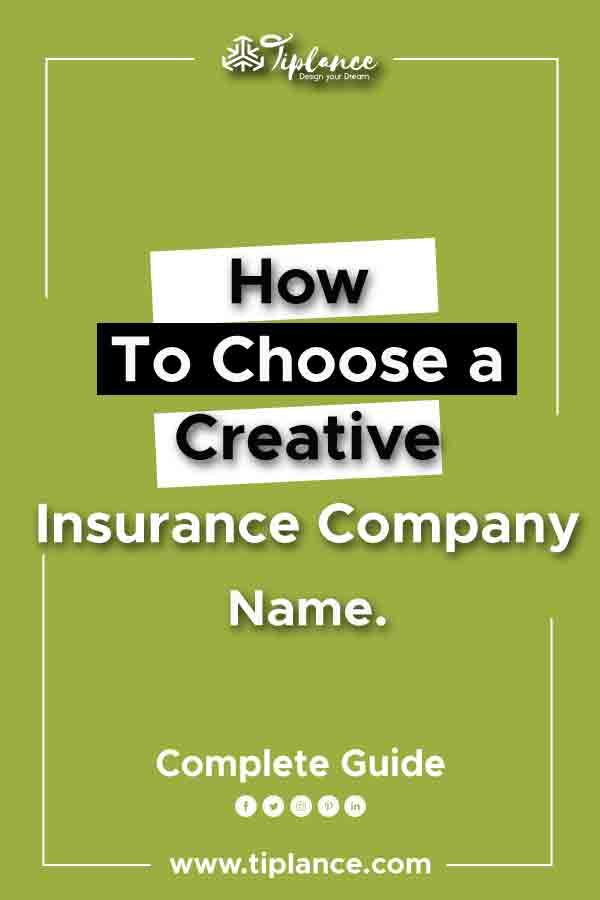 121 Catchy Trusty Insurance Company Name Ideas To Get More