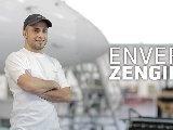 Portrait de Enver Zengin - maintenance aéronautique - Équipe d'Auvergne aux 42es finales nationales des Olympiades des métiers