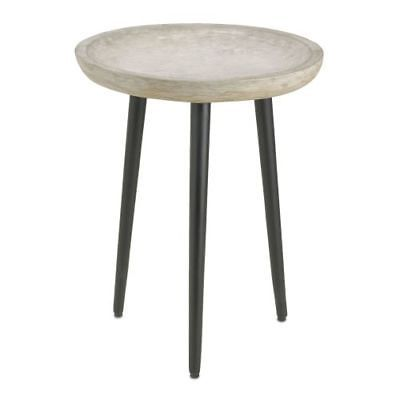 """Currey and Company 4161 Campo 23"""" Tall Accent Table"""