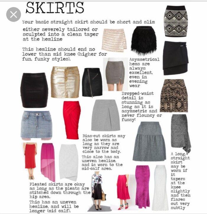 Skirts flamboyant gamine