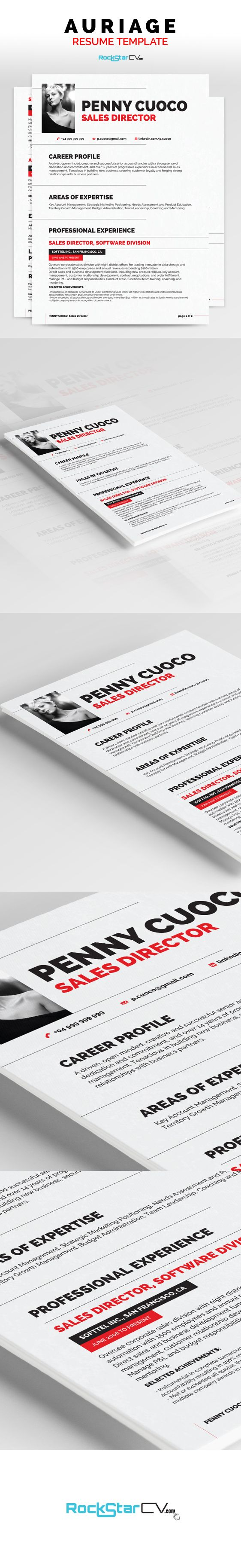 images about cv ideas cover letter auriage resume template resume template brings together the perfect balance of creativity and functionality