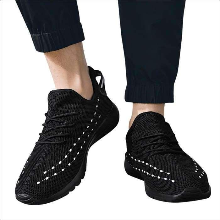 ChainSee Women Outdoor Breathable Mesh Shoes Casual Slip On Comfortable Flat Soles Running Sports Shoes