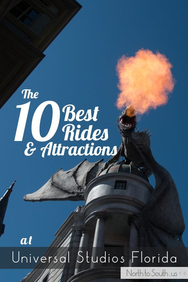 The 10 Best Rides and Attractions at Universal Studios Florida (from a diehard Harry Potter fan) || North to South