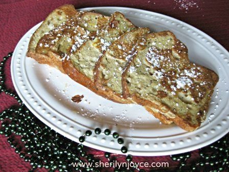 """Gluten Free Traditional French Toast Find this recipe and many more in my FREE ebook """"The Gluten Free Holiday Survival Guide"""" ---> http://sherilynjoyce.com/gluten-free-holiday-recipes/"""