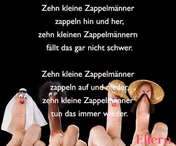 Fingerspiele für Babys: Zehn kleine Zappelfinger – Jutta Linden