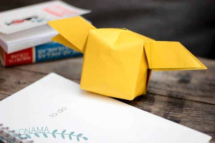 origami - le doigt dans l'engrenage