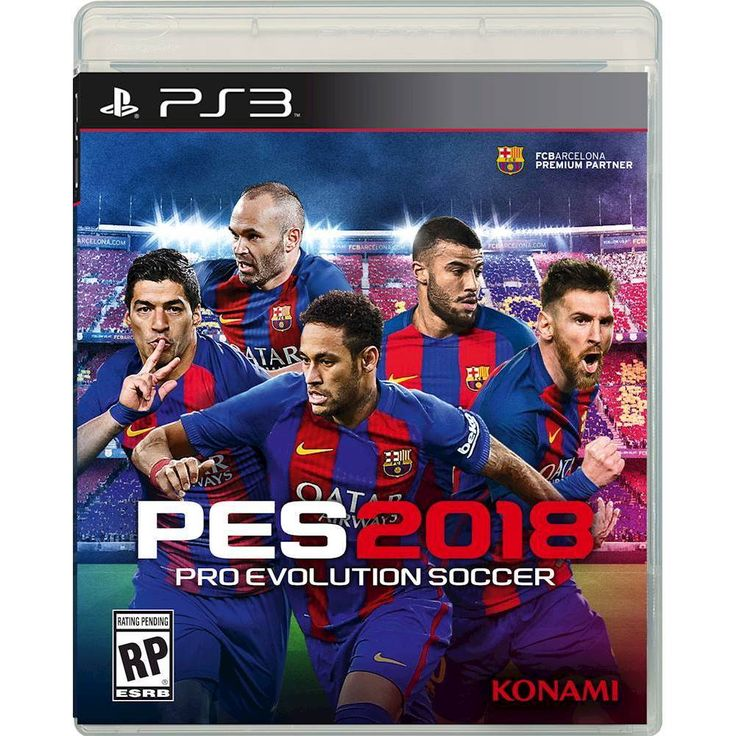 PES 2018: Pro Evolution Soccer - PRE-Owned - PlayStation 3
