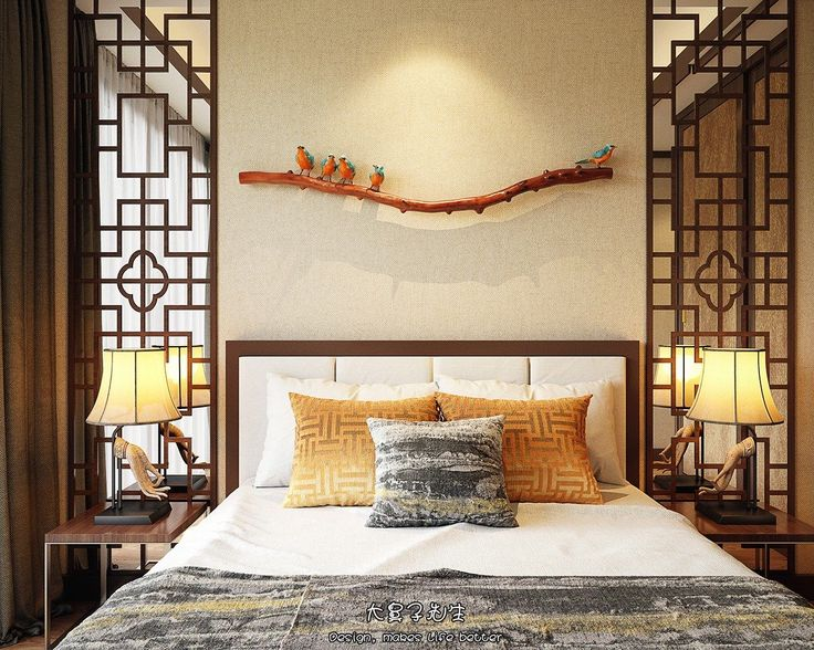 Unique Chinese Style Bed Frame