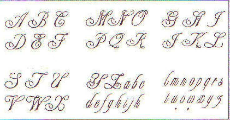 Letras bonitas letras bonitas de letras abecedario bonitas imagen tipos de letras car - Literas bonitas ...