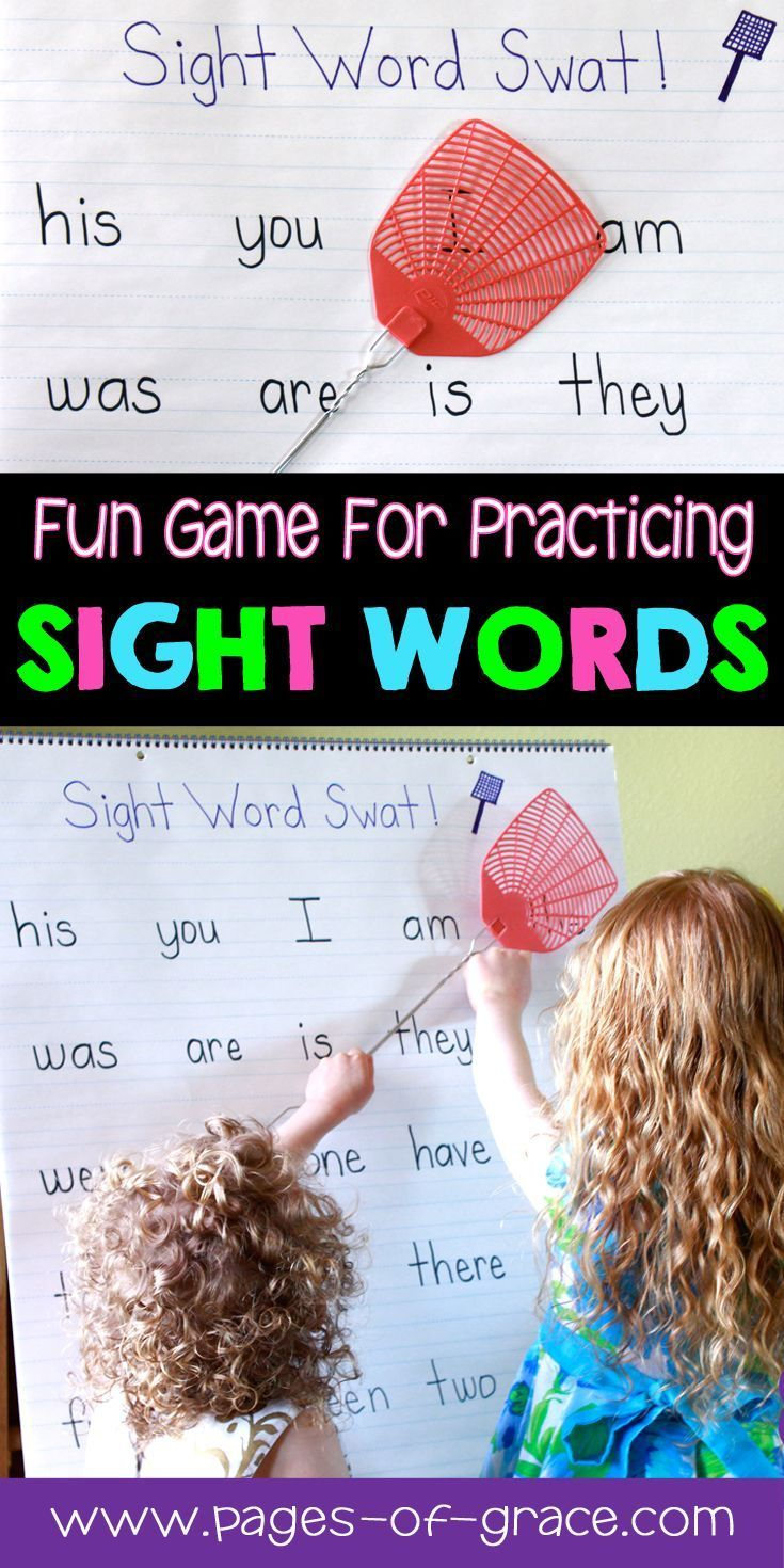 Are you looking for some fun ideas and activities for teaching sight words? Check out this interactive activity to help students master sight words! This game is great for literacy centers and independent practice for the classroom and homeschool. Great for advanced pre k, kindergarten, and first grade. My kids love learning sight words with this activity. Help improve sight word fluency and keep kids moving. Click on the picture to see how we use this activity.