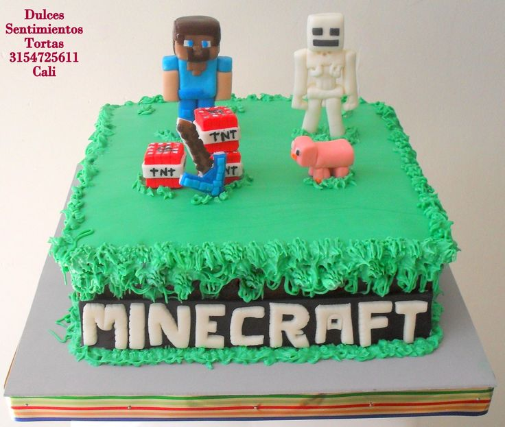Minecraft la torta Cali Colombia
