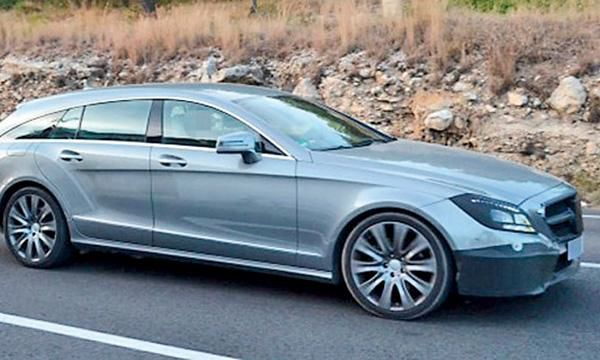 2016 mercedes station wagon   Mercedes-Benz CLA station wagon for 2015