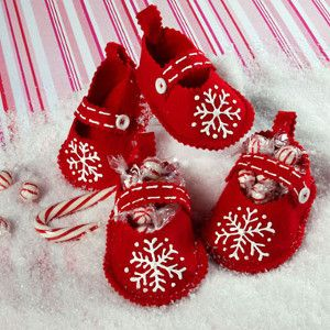 Cute and Crafty Christmas Booties | FaveCrafts.com