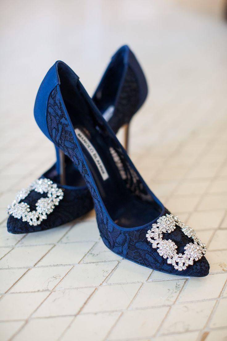 Classic Blue and White Southampton Wedding