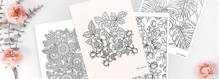 Раскраски Цветы Антистресс | Раскраски, Цветы, Любимые цвета