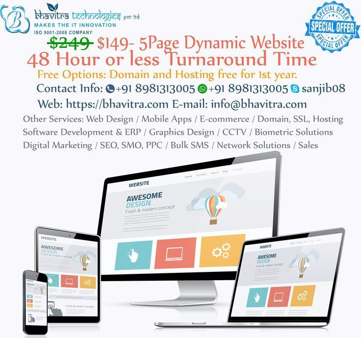 Bhavitra Technologies Pvt Ltd Is The Most Recommended Web Design Company In Ko Domain Registration Do Web Design Company Web Design Web Development Design