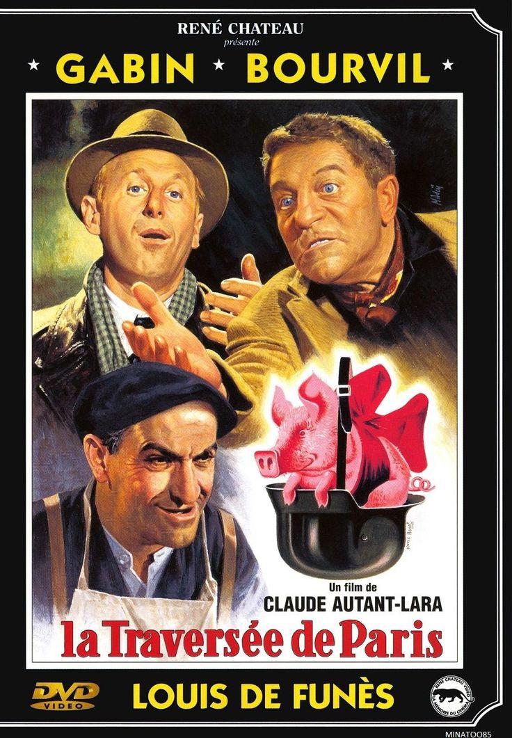DVD LA Traversee DE Paris Louis DE Funes Jean Gabin Andre Bourvil TBE 3330240071162   eBay