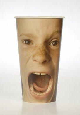 9 - face cups...screaming boy               --- FLERIA FACES --- www.fleria.gr/category/our-story/