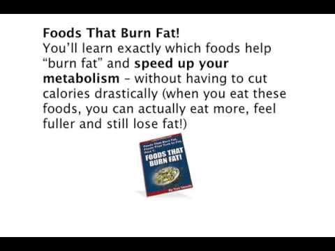 Foods That Burn Belly Fat - Fat Burning Foods