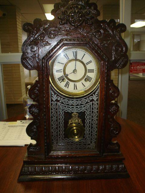 Antique Clocks: Ansonia Clock, ansonia clock co, exact model