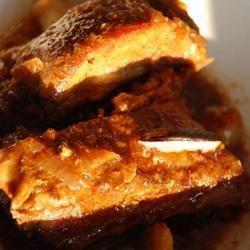 Żeberka wieprzowe w borowikach @ allrecipes.pl