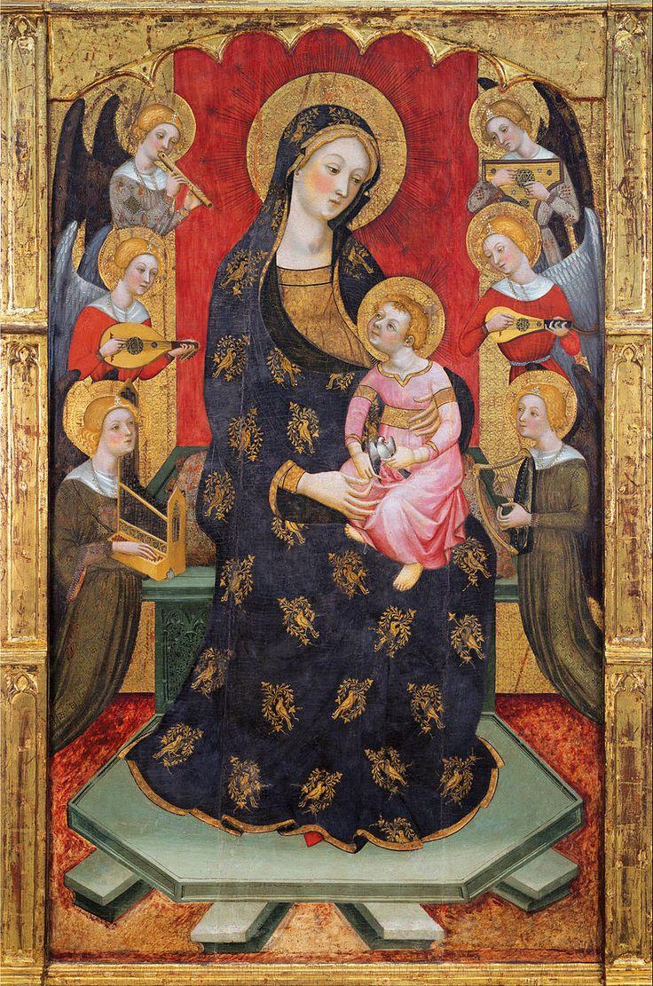 Pere Serra - Virgin of the Angels.