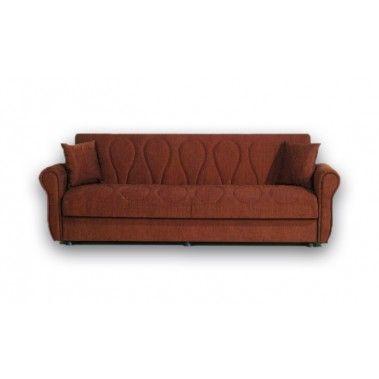 Καναπές κρεβάτι τετραθέσιος με αποθηκευτικό χώρο LALE