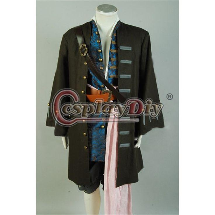 На заказ пираты карибского моря капитан джек воробей куртка жилет брюки экипировка для взрослых мужская фильм косплей костюм D0429