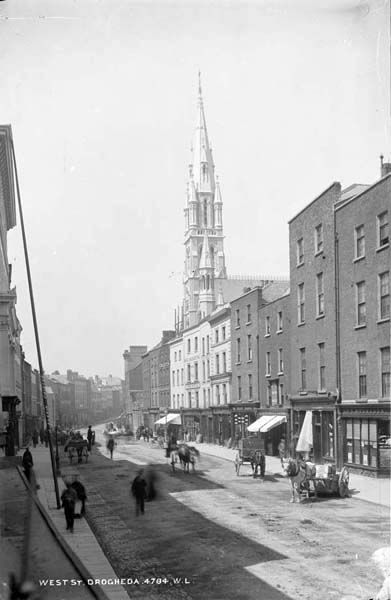 West Street, Drogheda, Co. Louth by French, Robert, 1841-1917 photographer Published / Created: [between ca. 1865-1914].