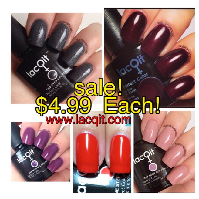 Selected LacQit colors just &4.99 ! Regular $11.99