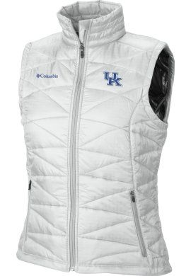 Keep warm & cute! Product: University of Kentucky Women's Mighty Lite Vest