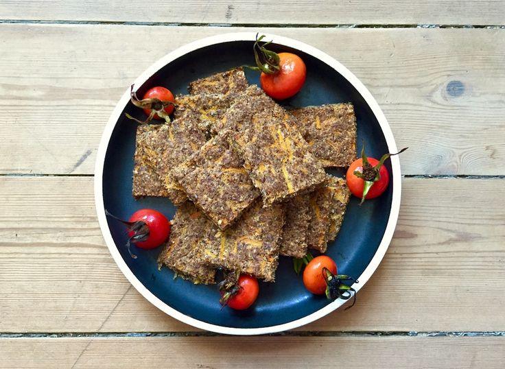 Glutenfrit brød med gulerod og hørfrø via http://carrotstick.dk