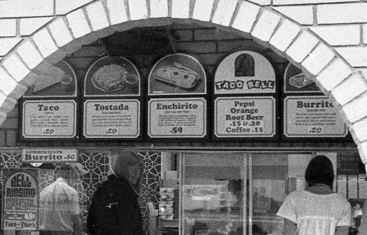 Old school Taco Bell MEMORIES/BLAST FROM THE PAST / OLD