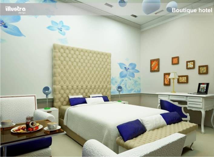 rander design 3d boutique hotel illustra
