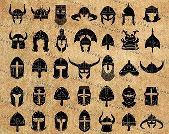 Digital Svg Png Warrior Helmet Spartan Helmet Viking Legionnaire Soldier Roman Helmet Clipart Vector Silh Viking Helmet Tattoo Helmet Drawing Viking Art