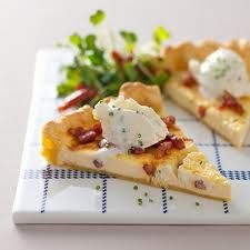 French food is a must try at Pondicherry. Quiche Lorraine, one of the most famous french dishes.